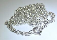 """SOLID STERLING SILVER 925 20 """"  BELCHER  CHAIN 3g - Strong & Durable"""