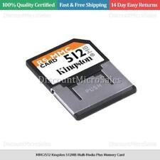 MMC/512 Kingston 512MB Multi-Media Plus Memory Card