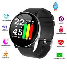 NEW Smart Watch Men Women Heart Rate Blood Oxygen Pressure Fitness Bracelet W8