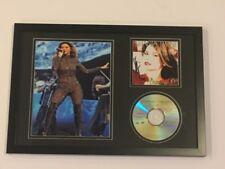 "SHANIA TWAIN SIGNED FRAMED 12x18 ""COME ON OVER"" CD PHOTO DISPLAY LEGEND JSA COA"