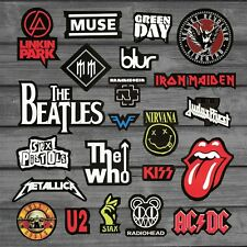 Heavy Metal Rock Punk Band Stickers For Car Guitar Styling On Laptop Skateboard
