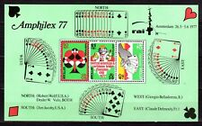 Dutch Antilles - 1977 Bridge championship / Amphilex Mi. Bl. 5 MNH