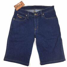 RM Williams Stockyard Womens Merita Denim Shorts Blue Size 14