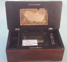 1890 French Music Box