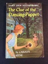 NANCY DREW #39: THE CLUE OF THE DANCING PUPPET by Carolyn Keene 1963 Printing