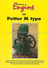 Petter M Stationary Engine Restoration Book - Petter M Engine History Guide