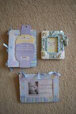 Baby boy photo album frame lot
