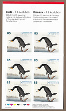 Canada Stamps -Booklet Pane of 6 -John James Audubon's Birds #2099a (BK310) -MNH
