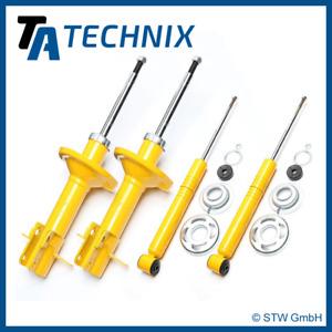 1 Satz / 4x TA Technix Sport-Stossdämpfer Vorne + Hinten - VW Golf 1, Scirocco