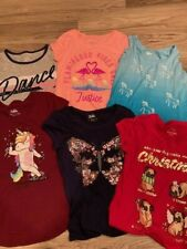 Justice Girls Short Sleeve T Shirt Lot size 10