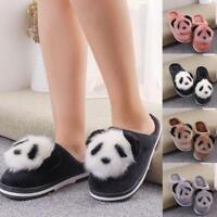 Frauen Hausschuhe rutschfeste niedlichen Cartoon Panda Home Plüsch Schuhe