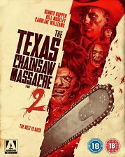 The Texas Chainsaw Massacre 2 (Arrow Limited Edt)  (BLU RAY) Region B  -sealed