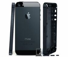 NEW IPHONE 5 REPLACEMENT BACK HOUSING BATTERY COVER  DARK GREY BLACK UK SELLER