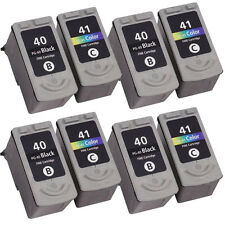 8 Reman Ink For Canon Pixma iP2500 iP2600 MP140 MP150 MP160 MP170 MP180