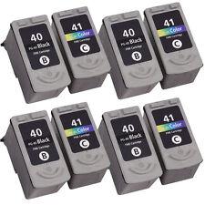 8 Reman Ink For Canon Pixma MP190 MP210 MP220 MP450 MP460 MP470 MX300 MX310