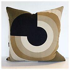 Vintage 60s Peter Perritt Zara Fabric Cushion Cover Mid Century Modern Eames Era