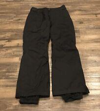 Vintage Columbia women's black snowboard ski pants, Size XS