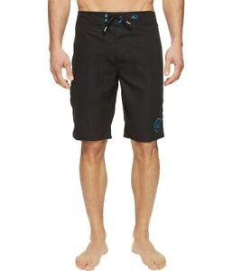 O'Neill Santa Cruz Solid 2.0 Boardshorts, Men's Size 34, Black - NEW