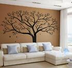 Large Life Tree Wall Stickers Home Decor Black Mural Vinyl Decor Black 99''x79''