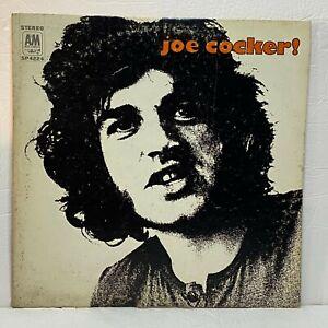 Joe Cocker!: A&M Records 1969 Vinyl (Rock / Blues / Pop)