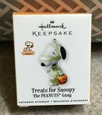 Hallmark Halloween Ornament Treats for Snoopy Dressed as Mummy 2010