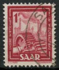 Saar 1949-51 SG#266, 1f Heavy Industries Definitive Used #A81211