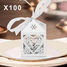 100x Geschenkbox Schmetterlings Gastgeschenk Kartonage Schachtel Hochzeit Party