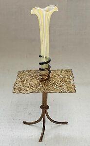 Antique Dollhouse Miniature Ormulu Table