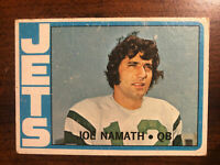 1972 Topps Joe Namath New York Jets #100 Football Card HOF