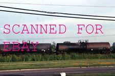 Aug 1990 UTLX Tank Cars Fairborn Ohio VINTAGE KODACHROME SLIDE Railroad