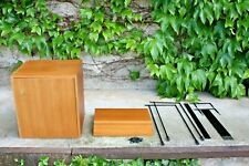 Omnia Teakregal Stringregal mit Korpus Danish Design Mid Century Modern