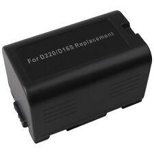 BATERIA para Panasonic cgr-d220 ag-dvc15 dvc7 dvx100a dvc30