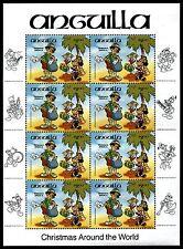 Anguilla 603 Walt Disney characters Christmas, Musical Instruments 1984 x10510