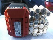1 kit remplacement batterie hilti B 24 en 2Ah  bateria batery
