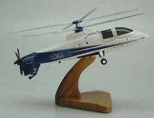 X-2 Sikorsky X2 Demonstrator Helicopter Desktop Wood Model Small New