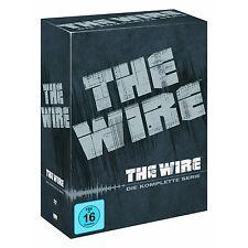 24 DVD-box ° the wire ° completo-supercaja ° nuevo con embalaje original ° temporada 1+2+3+4+5