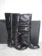 Material girl New Womens Lennox Black Boots 9 M Shoes NWB