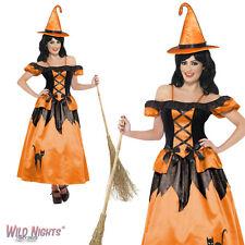 Halloween Vestido De Lujo # señoras Storybook Bruja Disfraz Tamaño 8-18