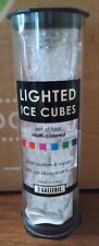 New listing Set of 4 Lighted Rainbow Ice Cubes in a Tube Brand New!