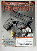 American Rifleman Magazine NRA Jan 2013 Springfield XD-S .300 H & H Magnum