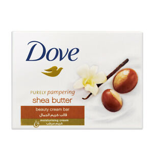 36ct Dove Shea Butter Purely Pampering Warm Vanilla Beauty Bar Soap 4.75oz