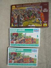 ESCI 224 2 x Roman infantry + ZVEZDA 8052 Roman Auxiliary Infantry soldier 1/72