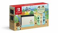 NEW SEALED Nintendo Switch Animal Crossing Special Edition Console No Game