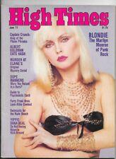 HIGH TIMES MAGAZINE JUNE 1977 BLONDIE FURRY FREAK BROS. ALBERT GOLDMAN