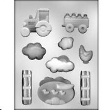 FARM Scene Chocolate Mold Chicken Tractor