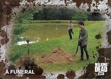 2016 The Walking Dead Season 5 Mud Parallel #55 A Funeral #29/50