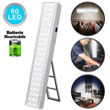 Lampada d'Emegenza  Ricaricabile Portatile 60 LED Torcia Luce Emergenza Casa Sos