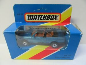 Matchbox Superfast MB39 BMW 323i Cabriolet - Blue - Mint/Boxed