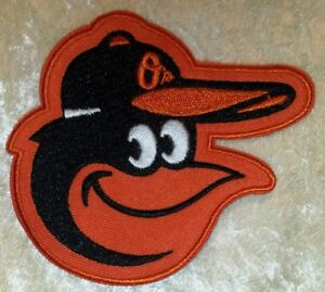 """Baltimore Orioles 3.5"""" Iron /Sew On Embroidered Patch~FREE SHIP!~ US Seller!"""