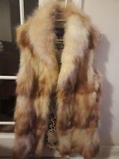 Racoon Fur Vest